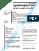 NBR9050 Acessibilidade de pessoas portadoras de deficiências a edificações.pdf