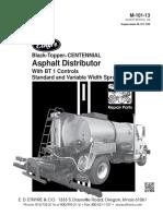 M-101-13 Etnyre Centennial S-2000 Parts Manual-s5316 y Superior