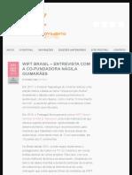 WIFT BRASIL – ENTREVISTA