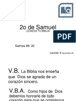 20171105 Leccion4 2do Libro Samuel