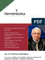Hermenéutica profunda de Gilberto Giménez