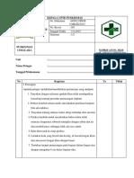 Daftar Tilik Pemasangan Implan
