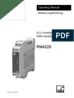 RM4220 Datasheet