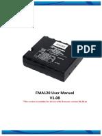FMA120 User Manual v1.08