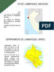 Diapositivas Departamento de Lambayeque Sebastian Tirado Liza
