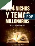 Diaz Lovera Cristina - 324 Nichos Y Temas Millonarios Para Escritores