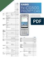 Module Fx Cg500 Prizm