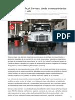 Daimler Custom Truck Services, Donde Los Requerimientos Especiales Cobran Vida