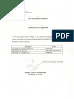 Comunicado 005 PRE Edital 397