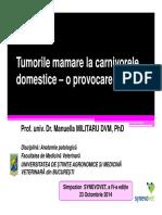 4. Tumorile Mamare La Carnivorele Domestice