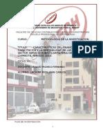 Informe Carpinteria