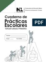Cuaderno de Prácticas Escolares Tercer grado