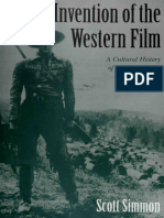 Invention of the Western Film a Cultural History of the Genres f
