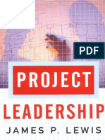 Project Leadership - James Lewis