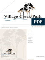 Village Creek Park Master Plan