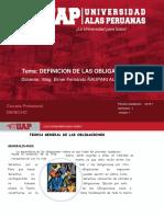 1. DEFINICION DE LA OBLIGACION UAP 2018-1.ppt
