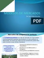 Tema IV Modelos de Mercados