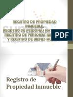 Registro de Propiedad Inmueble, Registro de Personas