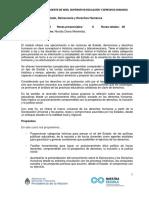 Estado Democracia y Derechos Humanos Programa