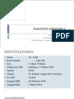 PPT Case 1 - Parotitis