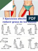 7 Ejercicios Efectivos Para Reducir Grasa de Los Muslos Facil