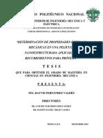 Determinación de Propiedades Ópticas y Mecánicas