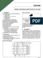 TDA7560(PAL007)