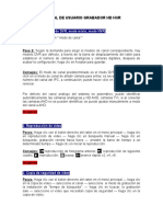 Manual de Usuario Grabador Hd Hvr