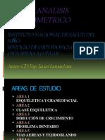 CEFALOMETRIA RESUMIDA INSN  DR. LAMAS