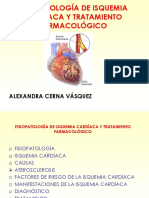 Fisiopatología de Isquemia Cardíaca Shanita