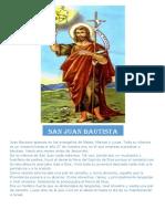 Juan Bautista Aparece en Los Evangelios de Mateo