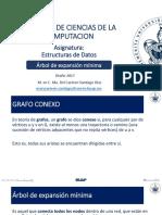 Estructuras de Datos - Árbol de Expansión Mínima