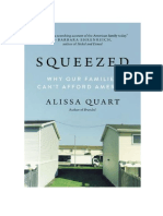 "Squeezed by Alissa Quart ""Why Our Families Can't Afford America"""
