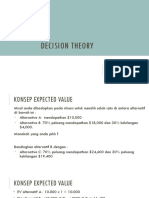 3. Decision Theory