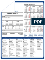 Calendario Laboral 2014 TFE