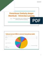 Pemeriksaan Similarity dengan Ithenticate Universitas Lampung.pdf