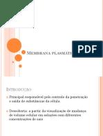 Aula 5 - Membrana Plasmática