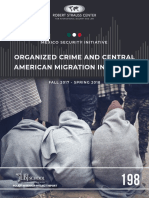 Organized Crime and Central American Migrant Report From UT