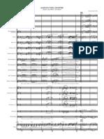 Amigos Para Sempre Sax e Orquestra - Score and Parts