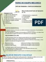 Costo de Operación- Diapositivas