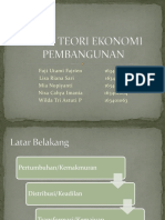 TEORI TEORI EKONOMI PEMBANGUNAN bag 2.pptx