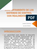 Comportamiento de Los Sistemas de Control Con Realimentacion
