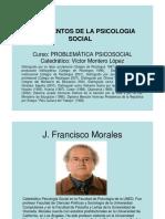 Fundamentos de La Psicologia Social