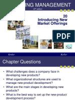 Kotler20 New Market Offerings
