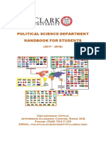 Political Science Handbook