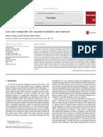 Chang Et Al. - 2016 - Low Cost Composites for Vacuum Insulation Core Mat