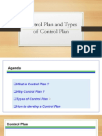SSYB 10 & 4.2 Control Plan and Types of Control Plan