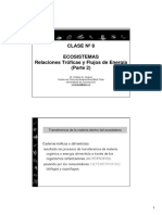 Clase Nº8 Ecosistemas II