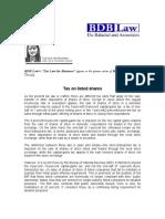 180. Tax on listed shares JFD 01 27 2011.pdf