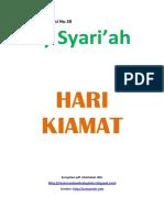 Kajian Utama Edisi 58 Majalah Asy-Syariah_hari Kiamat